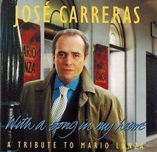 With a song in my heart : a tribute to Mario Lanza / José Carreras, Ténor   Carreras, José. Chanteur
