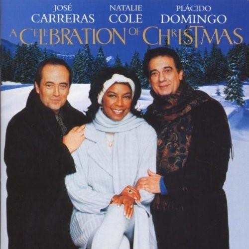 A celebration of Christmas : live from Vienna / José Carreras, Natalie Cole, Placido Domingo, César Franck, Georges Bizet, Vjekoslav Sutej, Gumpoldskirchner Spatzen | Carreras, José. Interprète