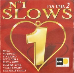 "N° 1 slows - vol.2 / Wet Wet Wet, Vanessa Williams, Black, Oleta Adams, Vangelis, Elton John, Lionel Richie, Sheryl Crow, Boyzone, Bee Gees, East 17, Zucchero ""Sugar"" Fornaciari 