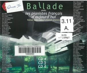Ballade avec les pianistes français d'aujourd'hui, vol. 2 | Haendel, George Frédéric. Auteur