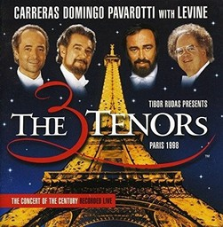 Three tenors (The) : Paris, 1998 / José Carreras, Luciano Pavarotti, Placido Domingo   Carreras, José. Chanteur