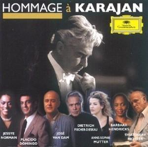 Hommage à Karajan / Herbert von Karajan, Piotr Ilyich Tchaikovski, Wolfgang Amadeus Mozart, Ludwig van Beethoven, Jean-Sébastien Bach, Giuseppe Verdi, Richard Wagner | Karajan, Herbert von. Interprète