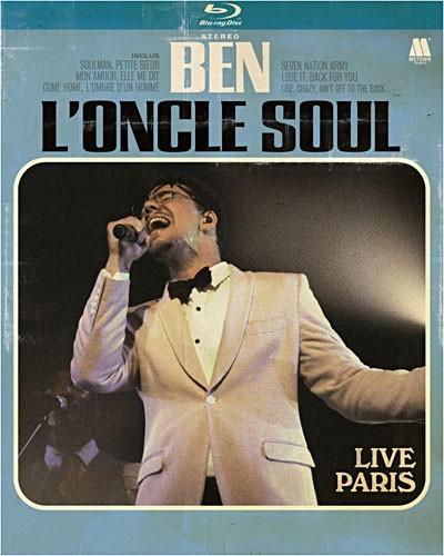 Live Paris / Ben l'Oncle Soul   Ben l'Oncle Soul. Chanteur