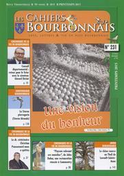 Les Cahiers Bourbonnais. 231, Mars 2015 : Paysages ruraux et urbains du Bourbonnais vus par Emile Mâle (Les) / Raphaëlle Maraval   Maraval, Raphaëlle