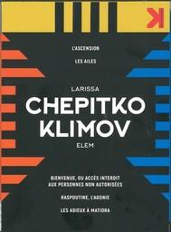 Chepitko Klimov | Chepitko, Larissa. Monteur. Scénariste