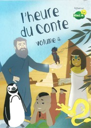 L'Heure du conte - vol.4 / une série créée et réalisée par Emmanuelle Reyss et Mathilde Menet | Reyss, Emmanuelle. Monteur. Instigateur