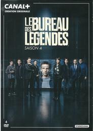 Le Bureau des légendes [4 DVD] - saison 4 / une série créée par Eric Rochant |