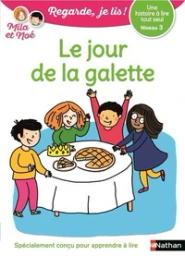 Le Jour de la galette : une histoire à lire tout seul, niveau 3 / Eric Battut | Battut, Eric (1968 - ....). Auteur