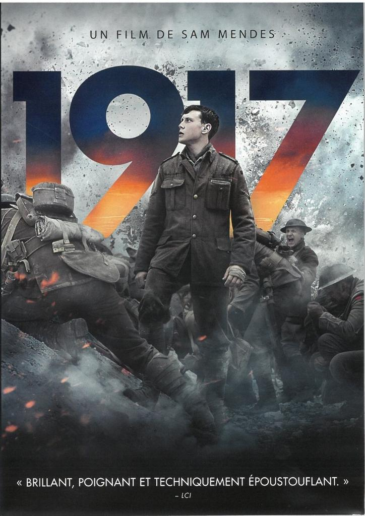 1917 [Mille neuf cent dix-sept] = 1917 [One thousand nine hundred and seventeen] = music by Thomas Newman / directed by Sam Mendes |
