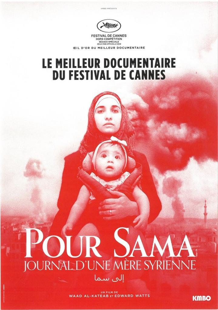 Pour Sama : journal d'une mère syrienne = For Sama / réalisé par Waad al-Kateab et Edward Watts |