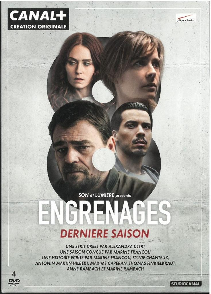 Engrenages : saison 8 / série créée par Alexandra Clert  