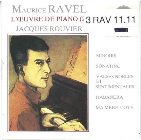 L' Oeuvre de piano - vol.2 / Maurice Ravel   Ravel, Maurice. Compositeur