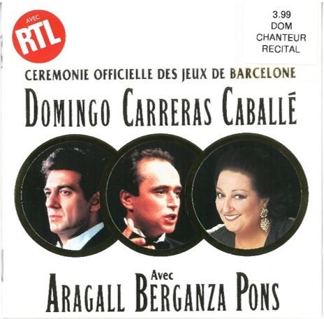 Cérémonie officielle des jeux de Barcelone / Placido Domingo, T   Domingo, Placido. Interprète