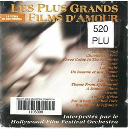 Les Plus grands films d'amour / Vangelis, Francis Lai, John Barry, Mancini, Gold | Vangelis. Interprète