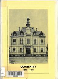 Commentry, première municipalité socialiste du monde : un centenaire / Georges Rougeron   Rougeron, Georges