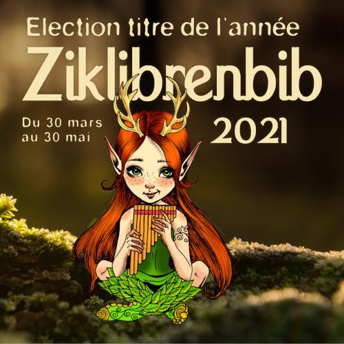 Election titre de l'année Ziklibrenbib 2021 |